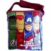 Bolsa Tiracolo Avengers - I am Avengers