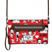 Bolsa tiracolo Betty Boop - Rouge