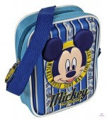 Bolsa tiracolo com relevo do Mickey
