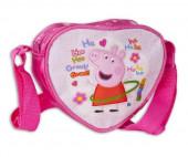 Bolsa Tiracolo Coração Porquinha Peppa
