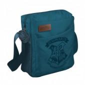 Bolsa tiracolo Harry Potter Hogwarts - azul marinho