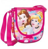 Bolsa Tiracolo oval Princesas Disney Bela e Cinderela