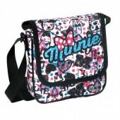 Bolsa tiracolo pequena Disney Minnie Draw