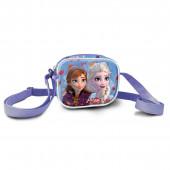 Bolsa Tiracolo Quadrada Frozen 2 Believe in the Journey 3D