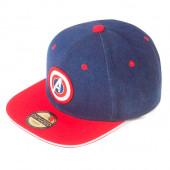 Boné Cap Capitão América Avengers Marvel Premium