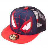 Boné Cap Face Spiderman Marvel