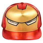 Boné Cap Iron Man Avengers Marvel