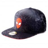 Boné Cap Spiderman Marvel Teia