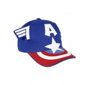 Boné Capitão América Marvel