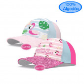 Boné Glitter Flamingo Sortido