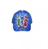 Boné PJ Masks Azul- Its Time to Be a Hero!