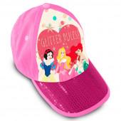 Boné Princesas Disney Glitter Rules