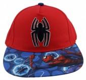 Boné Spiderman pala plana - Vermelho