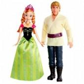 Boneca Anna e Kristoff Frozen