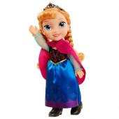 Boneca Anna Frozen Capa Inverno