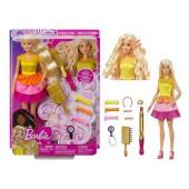 Boneca Barbie Canudos e Caracóis