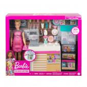 Boneca Barbie e a sua Cafetaria