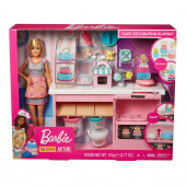 Boneca Barbie e a sua Pastelaria