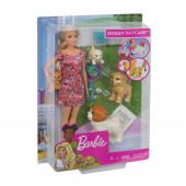 Boneca Barbie e os seus Cãezinhos