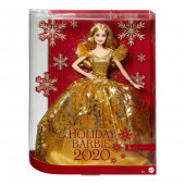 Boneca Barbie Loira Holiday 2020
