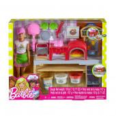 Boneca Barbie Pizza Chef