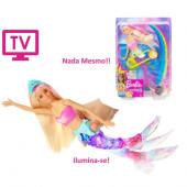 Boneca Barbie Sereia Nadadora Dreamtopia
