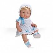 Boneca Elegance Azul 33 cm