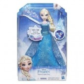 Boneca Frozen Elsa canta e brilha
