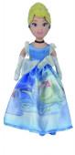 Boneca Peluche Cinderela Princesas Disney 25cm