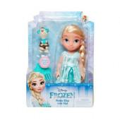 Boneca Pequena Elsa c/Olaf