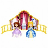 Boneca Princesa Sofia dança de irmãs