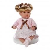 Boneca Sali Rosa Elegance 33 cm