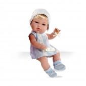 Boneca Swarovski Elegance Azul 33 cm