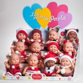 Boneco Pequeno Paola Reina Natal 22cm Sortido