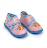 Bota c/ sola anti-derrapante bebé Princesas Disney