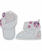 Bota com sola anti-derrapante bebé de Minnie Mouse