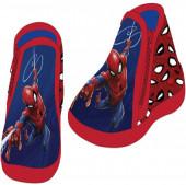 Bota com sola anti-derrapante bebé Spiderman