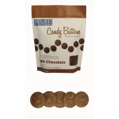 Botões Doces Leite Chocolate Pastilha 340g