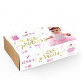 Box Little Princess Tutu + Coroa Gold - 4 Anos
