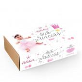 Box Little Princess Tutu + Coroa Silver - 3 Anos