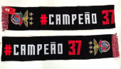 Cachecol Benfica Campeão 37 Preto