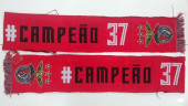 Cachecol Benfica Campeão 37 Vermelho