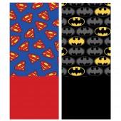Cachecol coralina Batman / Superman - sortido