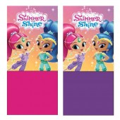 Cachecol em Coralina Shimmer e Shine - sortido