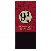 Cachecol Polar Hogwarts Express 9 3/4 Harry Potter