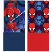 Cachecol tubular em coralina Spiderman - sortido