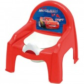 Cadeira Bacio plástico para bebé de Cars