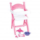 Cadeira Refeição Bonecas 49cm
