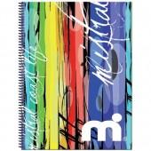 Caderno A4 120 folhas Mistral