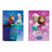 Caderno A4 Frozen, sortido